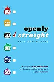 Openly Straight av Bill Konigsberg