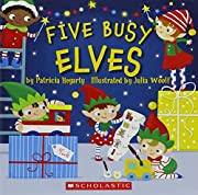 Five Busy Elves von Patricia Hegarty