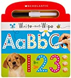 Write and Wipe ABC 123: Scholastic Early…