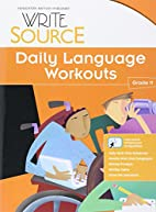 Write Source: Daily Language Workouts Grade…
