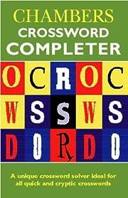 Chambers Crossword Completer de Chambers…
