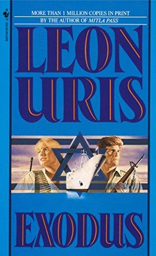 Exodus written by Leon Uris