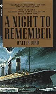 A Night to Remember #8 af Walter Lord