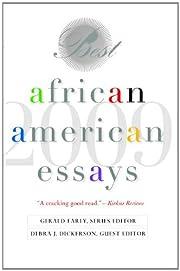 Best African American Essays: 2009 de Debra…