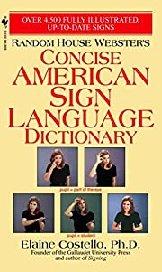 Random House Webster's Concise American Sign…
