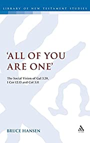 'All of You are One': The Social…