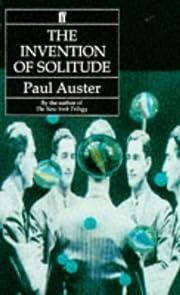 The Invention of Solitude av Paul Auster