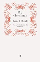 Israel Rank: The Autobiography of a Criminal…