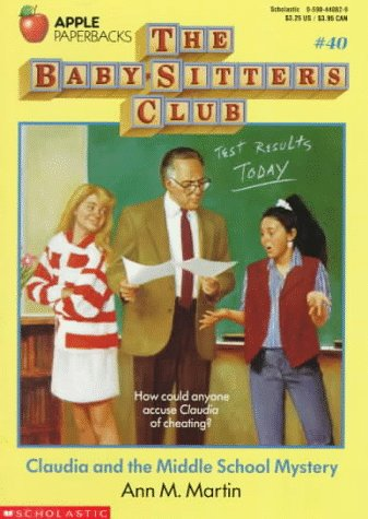 Claudia and the Phantom Phone Calls (The Baby-Sitters Club, No.2) by Ann M. Mart