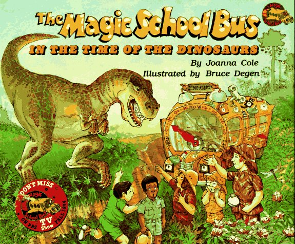 In The Time Of Dinosaurs (Magic School Bus), Cole, Joanna