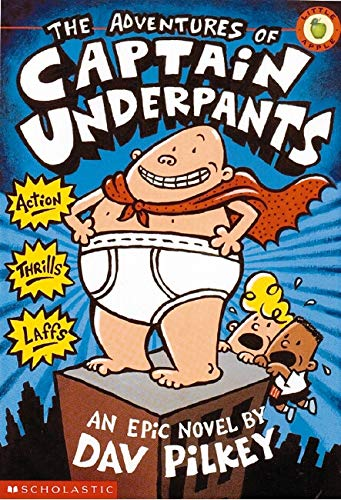 Captain Underpants by Dave Pilkey