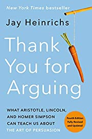 Thank You for Arguing, Fourth Edition…