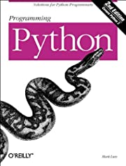 Programming Python, Second Edition with CD…