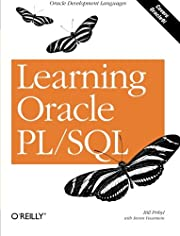 Learning Oracle PL/SQL av Bill Pribyl