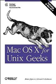 Mac OS X for Unix Geeks door Brian Jepson