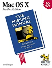 Mac OS X: The Missing Manual, Panther…
