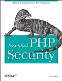 couverture du livre Essential PHP Security