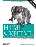 couverture du livre HTML & XHTML: The Definitive Guide (6th Edition)