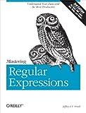 couverture du livre Mastering Regular Expressions