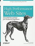 High Performance Web Sites: Essential…