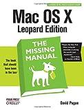 couverture du livre Mac OS X Leopard Edition: The Missing Manual
