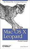 couverture du livre Mac OS X Leopard Pocket Guide