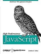 High Performance JavaScript by Nicholas C.…
