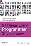 couverture du livre 97 Things Every Programmer Should Know