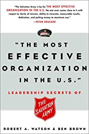 The Most Effective Organization in the U.S.:…