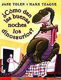 Cover art for Cómo dan las buenas noches los dinosaurios?