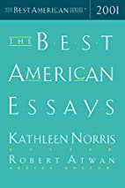 The Best American Essays 2001 by Kathleen…