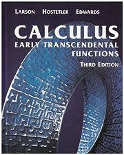 Calculus : early transcendental functions av…