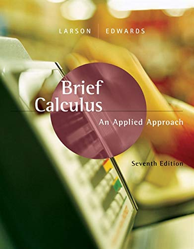 Brief Calculus An Applied Approach 8th Edition Pdf