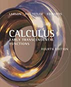 Calculus: Early Transcendental Functions by…