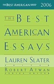 The Best American Essays 2006 (Best American…