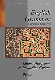 English Grammar: A Generative Perspective…
