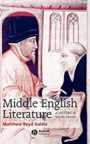 Middle English Literature: A Historical…