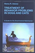 Treatment of Behavior Problems in Dogs and…