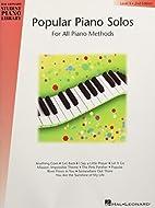 Popular Piano Solos - Level 5: Hal Leonard…