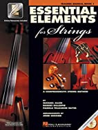 Essential Elements for Strings: Teacher's…