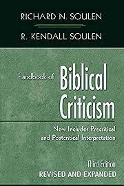 Handbook of Biblical Criticism, Third…