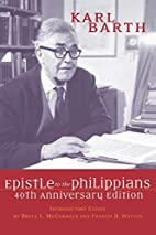 Epistle to the Philippians by Karl Barth