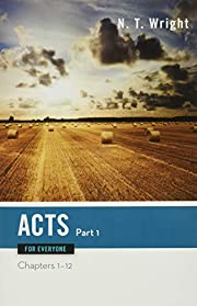 Acts for Everyone, Part 1 (New Testament for…