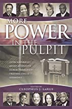 More Power in the Pulpit: How America's…