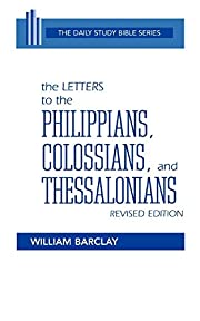 The Letters to the Philippians, Colossians,…