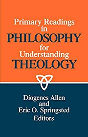 Primary Readings in Philosophy for…