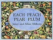 Each Peach Pear Plum (Viking Kestrel Picture…