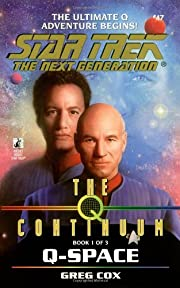 Q-Space (Star Trek The Next Generation, Book…