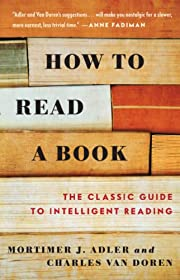 How to Read a Book av Mortimer J. Adler