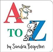 A to Z av Sandra Boynton